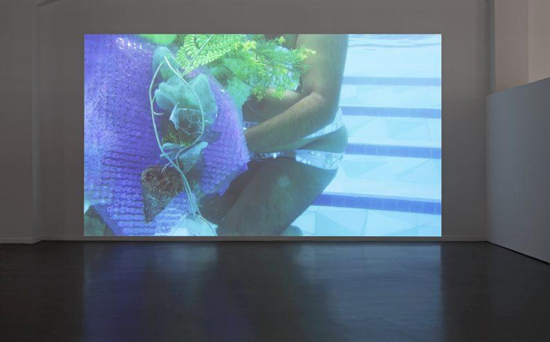 Tejal Shah, Installationsansicht, UNBECOMING, Kunsthaus Hamburg 2017